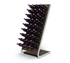 Esigo 4 Tech <b>wooden wine rack</b>