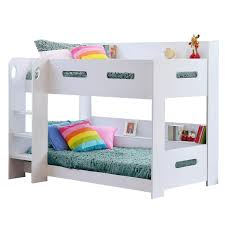 kids bunk bed with storage. White Kids Bunk Bed - Ladder Can Be Fitted Either Side! + Storage Shelves FREE UK Delivery: Amazon.co.uk: Kitchen \u0026 Home With E