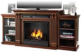 Amazon Calie Entertainment Gel Fireplace in Dark Espresso