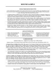 Hr Resume Examples Resume Human Resources Executive Sample Hr