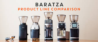 Baratza Product Line Comparison Prima Coffee