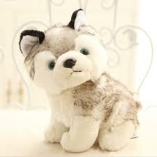 16cm new stuffed soft plush small siberian husky dog puppy cute toys little dog doll