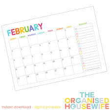 Free Downloadable Monthly Calendar 2015 Free 2015 Monthly Calendar Pages With To Do List The