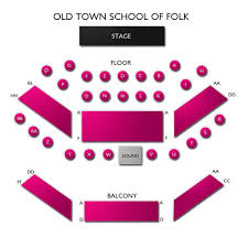 Old Town School Of Folk 2019 Seating Chart