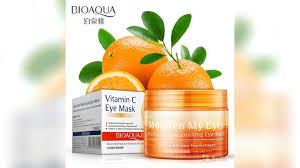 <b>Маска патч</b> вокруг глаз апельсиновая Bioaqva купить в ...