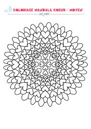 Mandala Coeur Colorier Facile Mandala Coeur Colorier Et Coeur Coloriage Superbes Mandalas Arbre Simple L