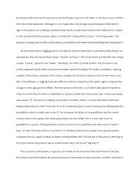 comparison of seamus heaney poems 2 but