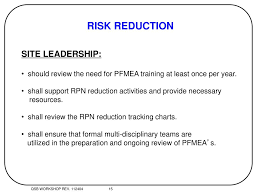 Risk Reduction Process Ppt Download