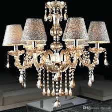 chandelier lamp modern minimalist living room lamp crystal chandelier crystal candle lights dining room bedroom chandelier