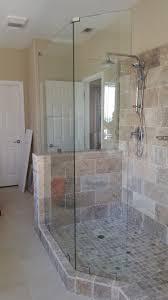 free standing shower door shower guard