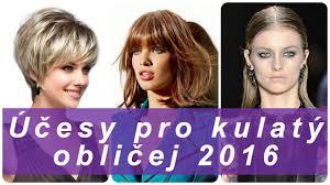 účesy Pro Kulatý Obličej Krása 2017 časopis Módní Dámské 2017