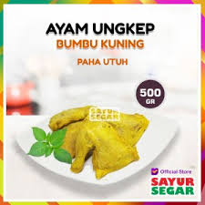 Sayur pepaya muda andalan mama! Jual Paha Utuh Ungkep Bumbu Kuning 500g Jakarta Selatan Sayur Segar Official Tokopedia