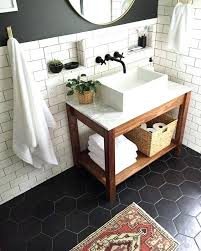 inspiring bathroom tiled walls bathroom inspiration black tile floor white subway tile with dark grout natural