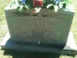 """Thomas Jacob """"Tommie"""" Pate (1893-1946) - Find A Grave Memorial"""
