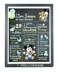 diy chalkboard birthday invitations template mickey mouse clubhouse lovely baby printable first invitation mo