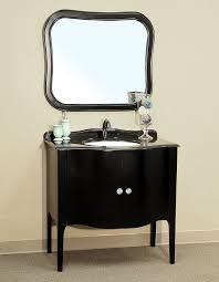 black bathroom vanity. bellaterra home 203037-black vanity bathroom black n