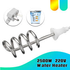 2500w water heater portable electric immersion element boiler for bath tub pool