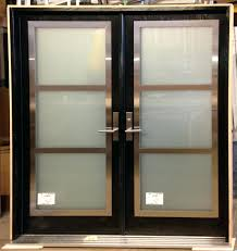 modern glass entry doors. Double Entry Door With Stainless Steel Frame On Top Of Glass Inserts From Thermoluxe Contemporary Collection Inspirations Modern Front House Doors