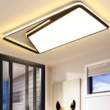 rectangle metal ceiling light fixture