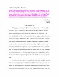 Autobiography Essay Example Professional Pictures Of Bio