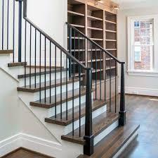 Indoor stair railings Iron Railings Interior Stair Railing Design Wood Next Luxury Top 70 Best Stair Railing Ideas Indoor Staircase Designs