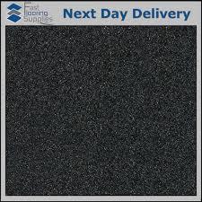black glitter vinyl floor tile