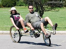 atomiczombie the tradewinds recumbent tandem bike