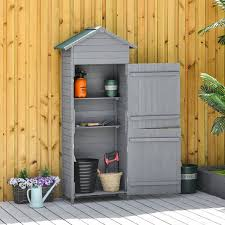 wooden shed timber garden storage shed