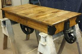 railroad coffee table cart antique factory cart coffee table wheels railway table railroad cart coffee table