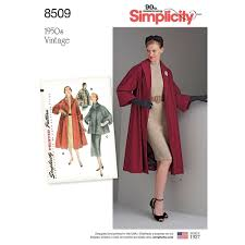 Coat Sewing Patterns Impressive Misses Vintage Coat Or Jacket Simplicity Sewing Pattern 48 Sew
