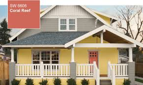 Coral Front Door Color Of The Year Coral Reef Sw 6606 By Sherwin Williams