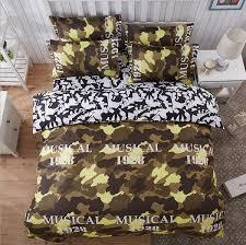 wish modern camouflage bedding set cotton quilt duvet doona cover set twin queen king size