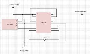 arduino load cell scale 4 steps