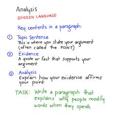 writing analysis first analytical writing