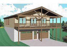 garage apartment plan 006g 0110