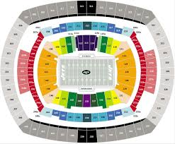 New York Jets Seating Chart Buy Sell New York Jets 2019 Season Tickets And Playoff