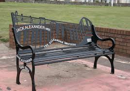 bench design metal memorial benches memorial bench with plaque garden bench iron black glamorous