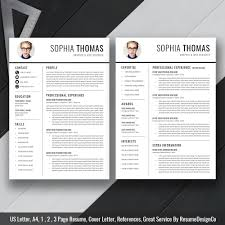 Professional Resume Template Cv Template Simple And Elegant Resume