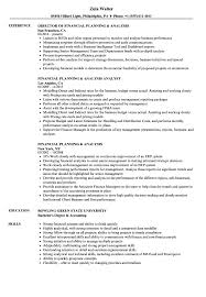 Financial Planning And Analysis Resume Examples Financial Planning Analysis Resume Samples Velvet Jobs 8