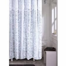 white lace shower curtain. White Lace Shower Curtain BedBathHome.com
