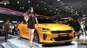top cars 2018 kia stinger gt first look seoul motor show 2017