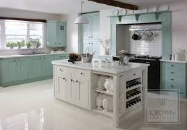 Models Blue Country Kitchens Contemporary Kitchen Green Off To Inspiration