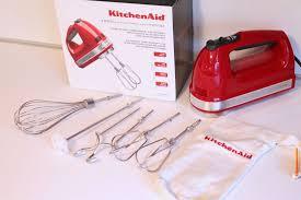 review kitchenaid 9 sd hand mixer faith food family fun