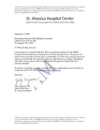Nursing Letter Of Recommendation Authorization Letter Bir