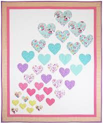 Hearts A Flutter Quilt Pattern | Free pattern, Patterns and ... & Hearts A Flutter Quilt Pattern Adamdwight.com