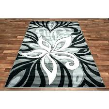 black fl area rug contemporary rugs target s red pink fl contemporary rugs