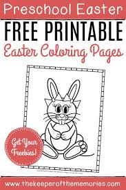 You will need a pdf reader such as adobe. Free Printable Easter Bunny Coloring Pages The Keeper Of The Memories