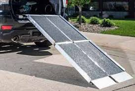 used wheel chair ramps. Trifold Portable Wheelchair Ramps Use With SUV\u0027s, Vans Or Trucks. Used Wheel Chair I