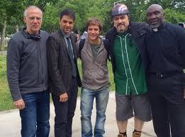 """De trabajar con Scarlett Johansson en los """"Vengadores"""" a tener una banda:  la vida del ex """"Casi Ángeles"""" Gastón Dalmau en Estados Unidos"""