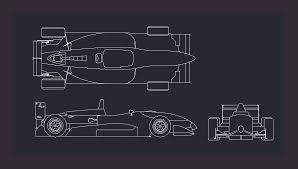 Car Design In Autocad 2d Race Car In Autocad Cad Download 53 01 Kb Bibliocad